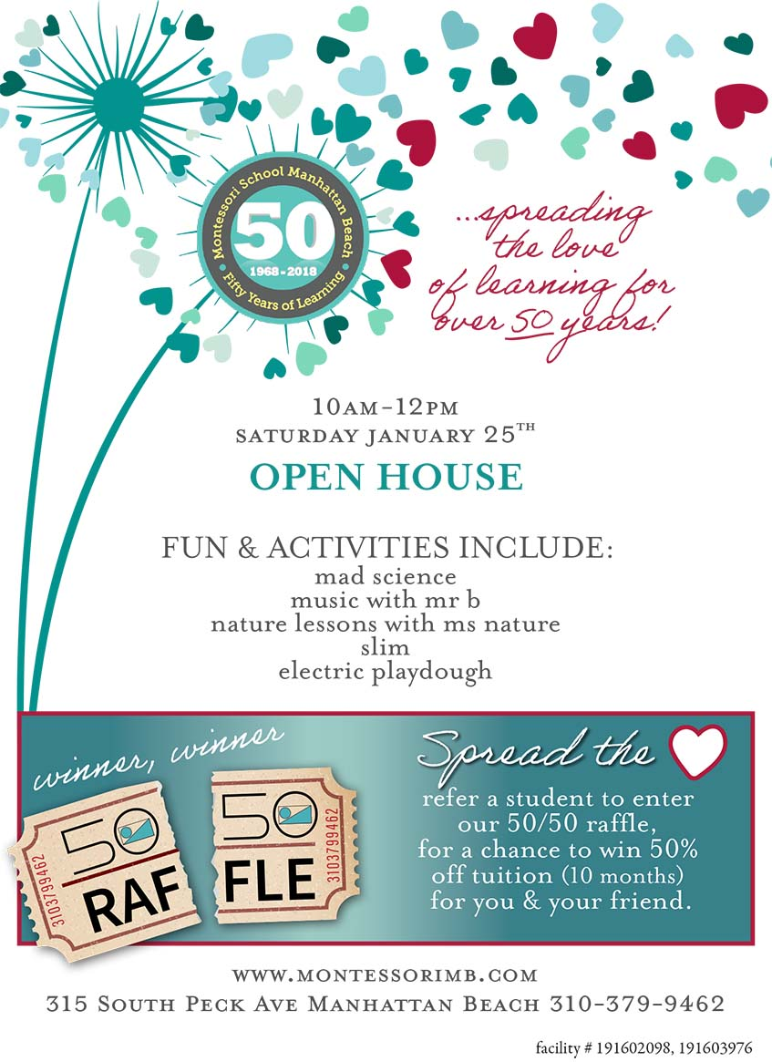 Montessori School of Manhattan Beach Open House